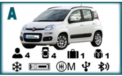 Arash Rent a Car - Fiat Panda or similar