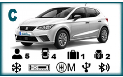 Arash Rent a Car - Seat Ibiza or similar