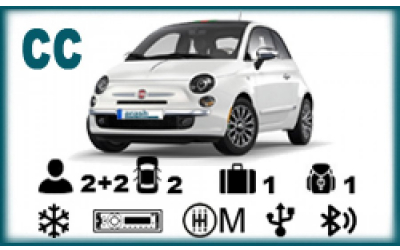 Arash Rent a Car - Fiat 500 or similar