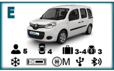 Arash Rent a Car - Renault Kangoo or similar