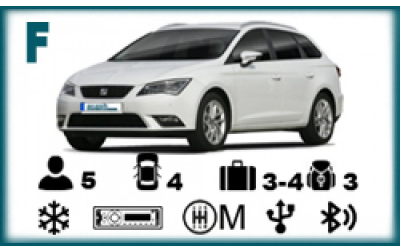 Arash Rent a Car - Seat Leon SW or similar