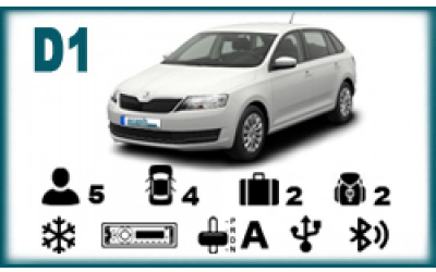 Arash Rent a Car - Skoda Rapid Spaceback automatic or similar