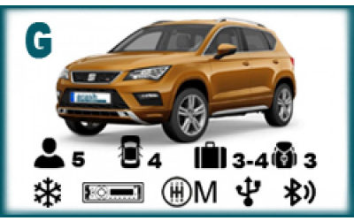 Arash Rent a Car - Seat Ateca or similar